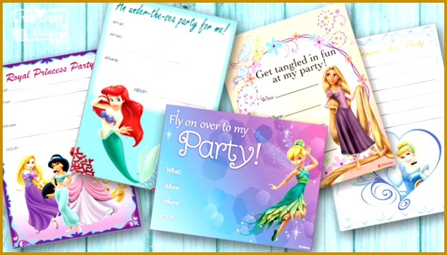 """Free Printable Birthday Party Invitations for Girls """" 372651"""
