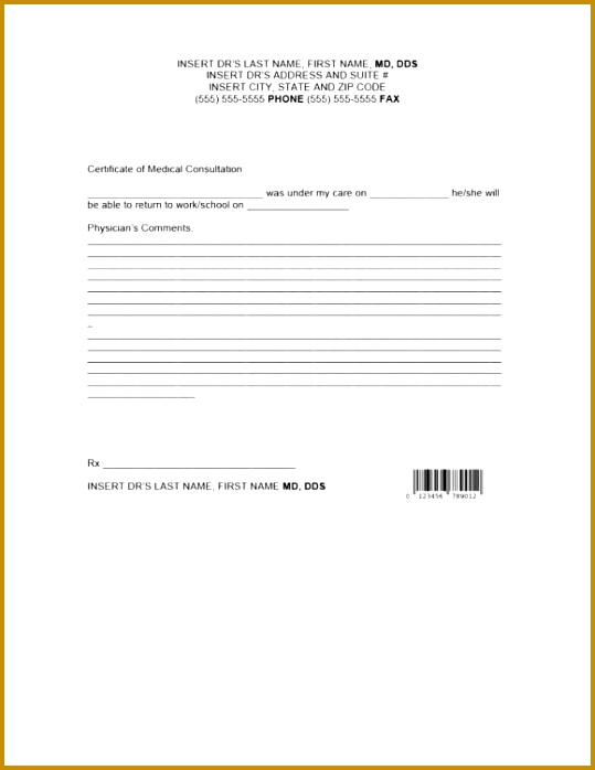 doctors note template 20 698539