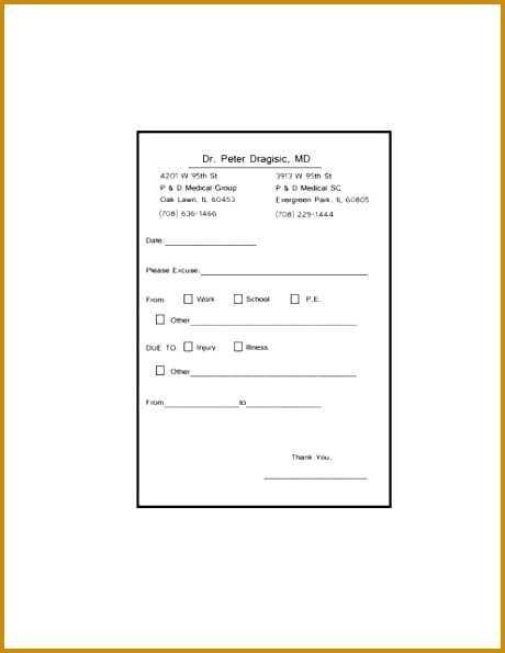 Fake Doctor s Notes Templates Fast 460595