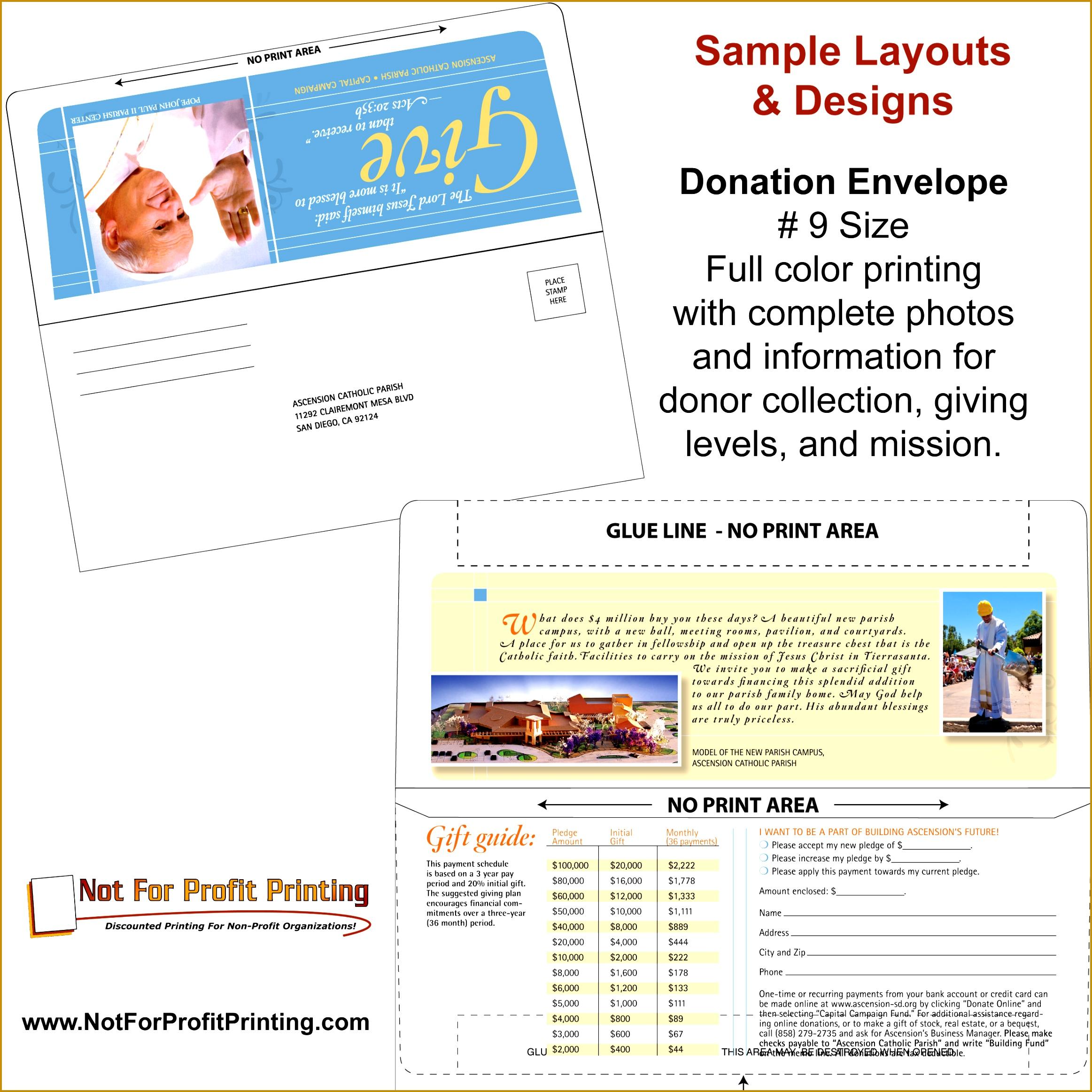 Remittance Envelope sample design 9 Remittance Envelope Sample Design from Not For Profit Printing 23252325