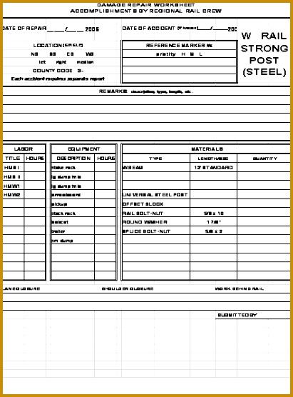 Dot Log Book Template | Dot Log Book Template 42796 Repair Log Template Organizational