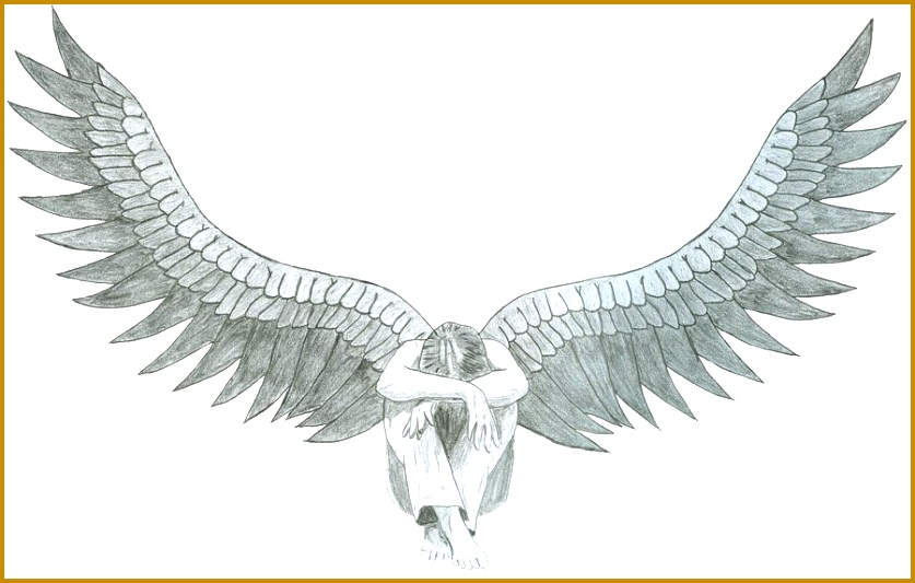 dark angel drawing 533837