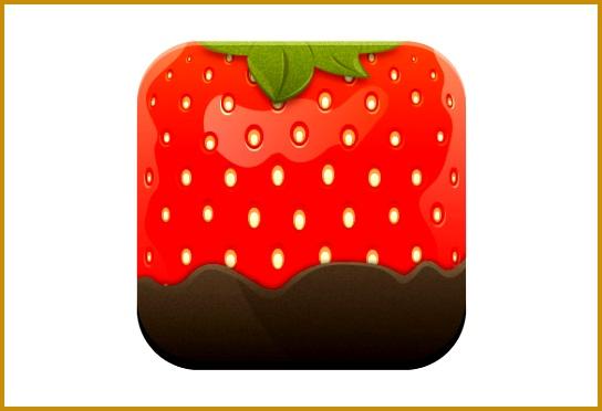 Stylised Strawberry Icon Adobe Illustrator Tutorial 372544