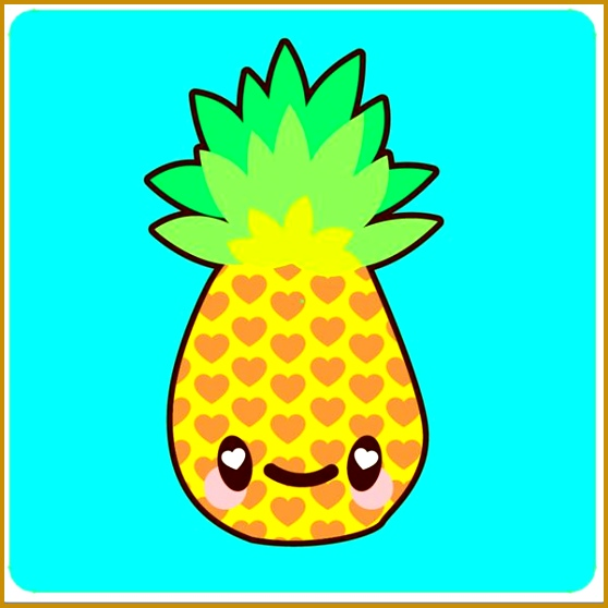 How to Draw a Simple Super Kawaii Pineapple in Adobe Illustrator by Mary Winkler Bring on the cute bring on the funk This tutorial highlights how easy 558558