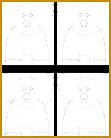 Elephant craft template 279225