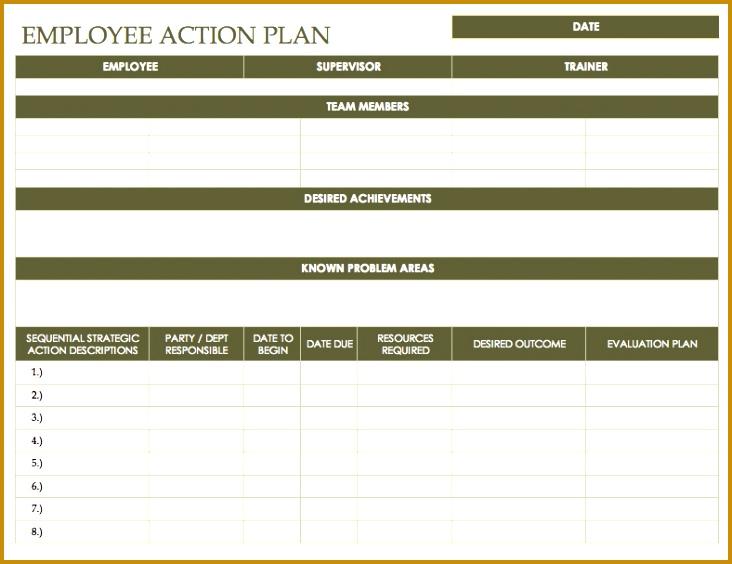 employee action plan 564732