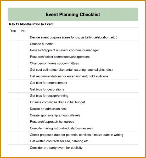special event planning checklist 604558