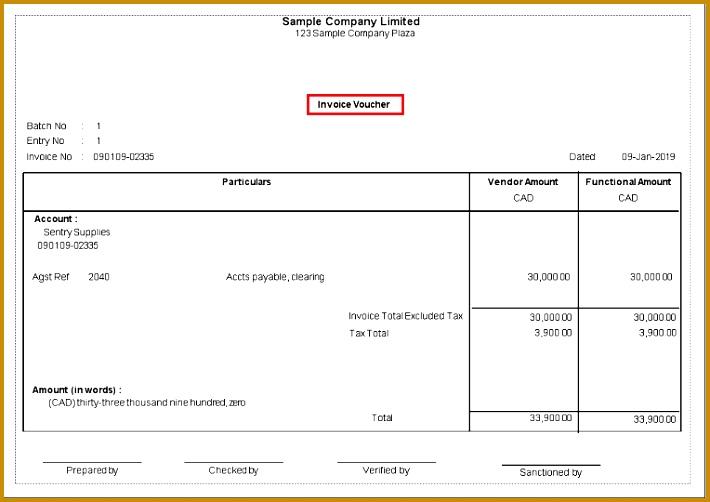 AP Invoice Voucher Report 502710