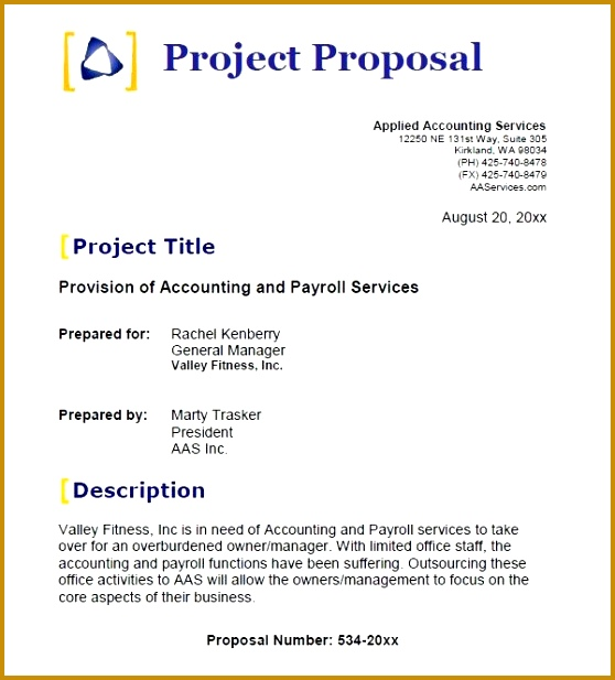 Sample Business Proposal Template 14 Documents in PDF Word INDD 617558