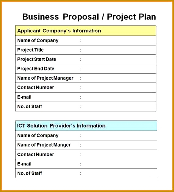 10 business project proposal example 629569