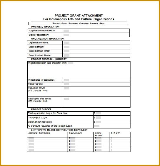 Proposal Template – 140 Free Word Pdf Format Download 544566