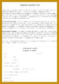 Expense Voucher Template 120171