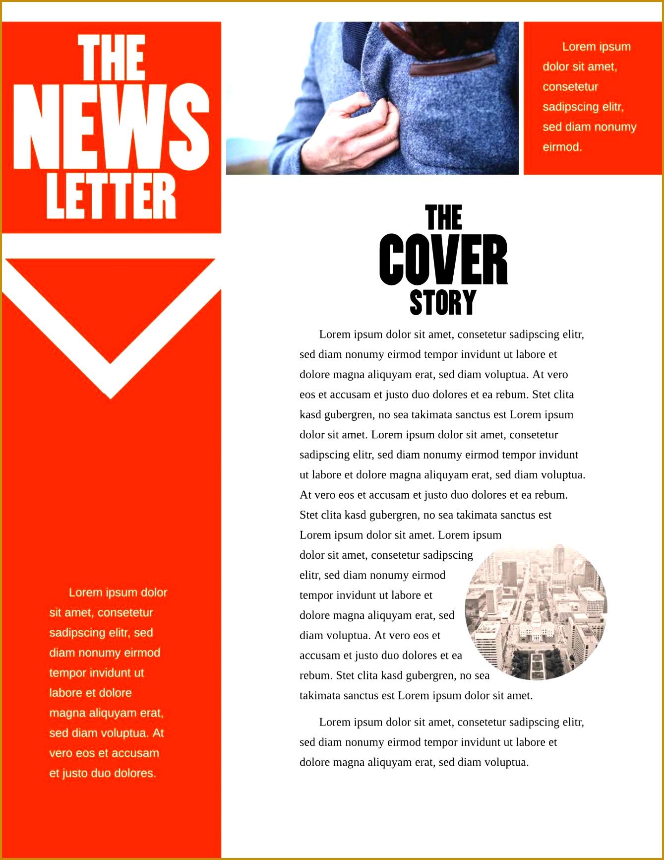 Black Widow pany Newsletter Template 17331339