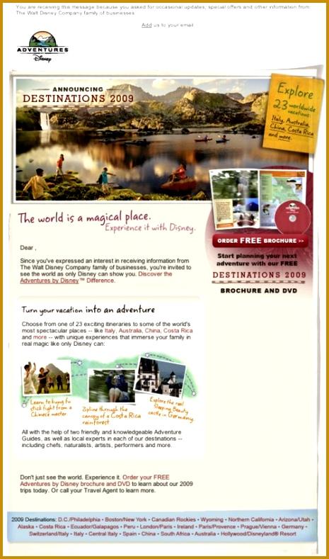 Disney Adventures newsletter 789465