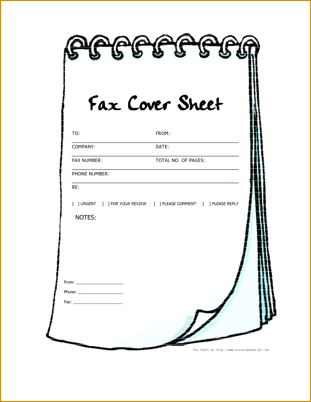 Fax Cover Sheet Word 2010 Pacq Co 11851534