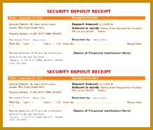 Security Deposit Receipt Template Doc for Free The Proper Receipt Format for Payment Received and 186219