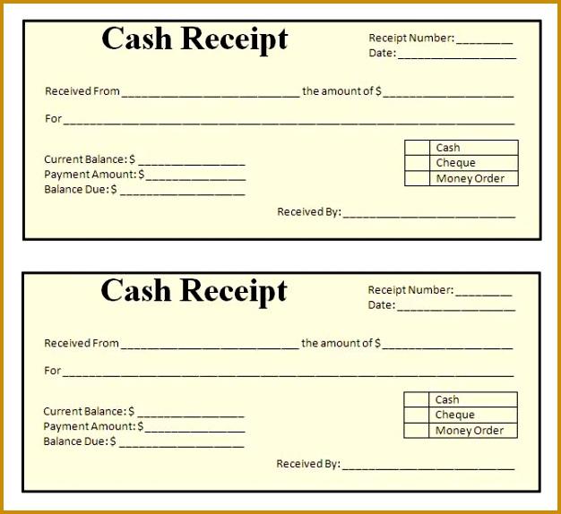 receipt template 626574