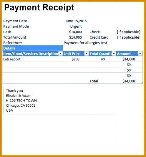 House Rent Receipt Format Doc [Templatellybullock ] 533496