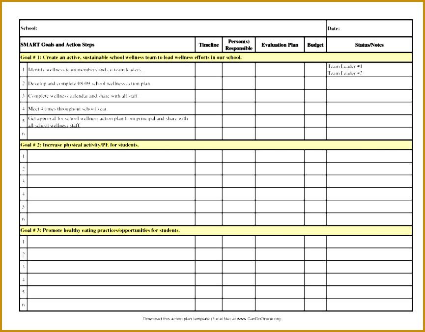 Financial Action Plan Template Fxhpk Best Annual Sales Plan Template Masir 676865