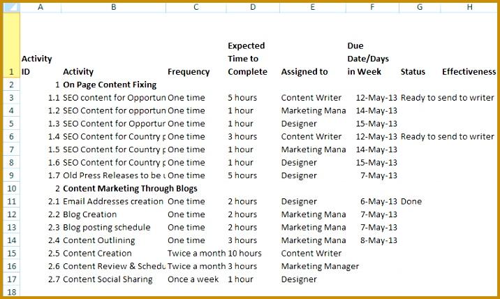 sample marketing action plan 716428