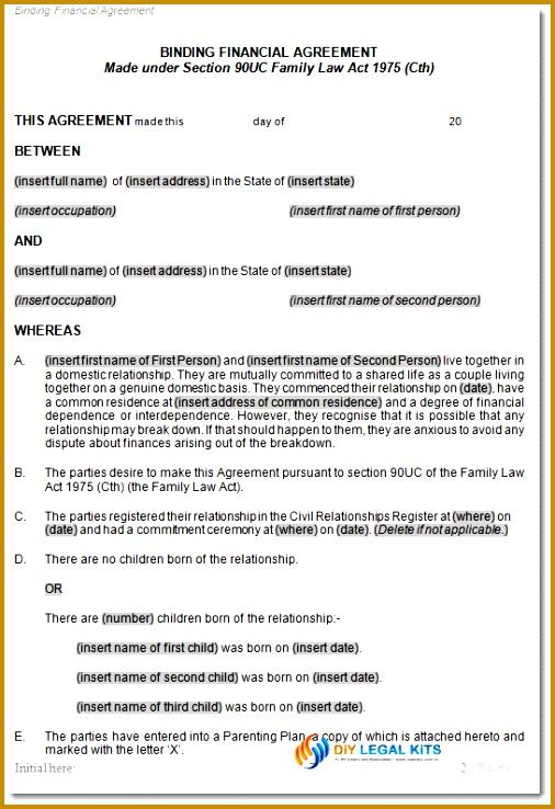 Cohabitation agreement sample 738506