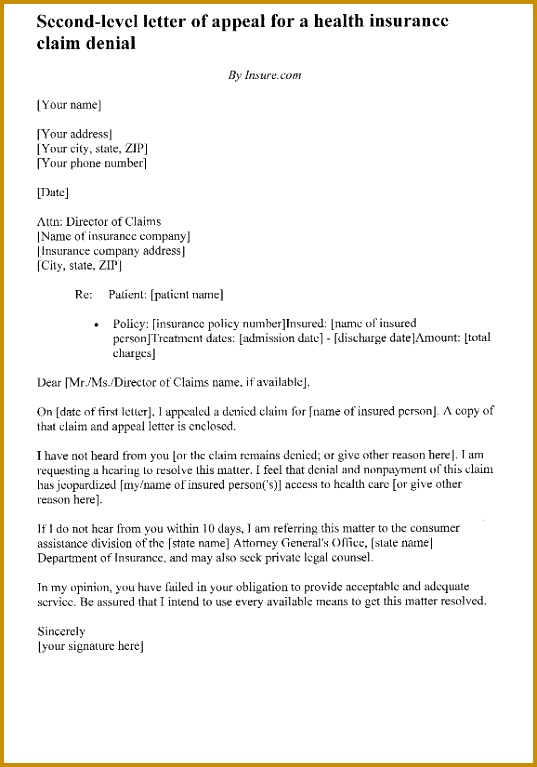 6 financial aid appeal letter template