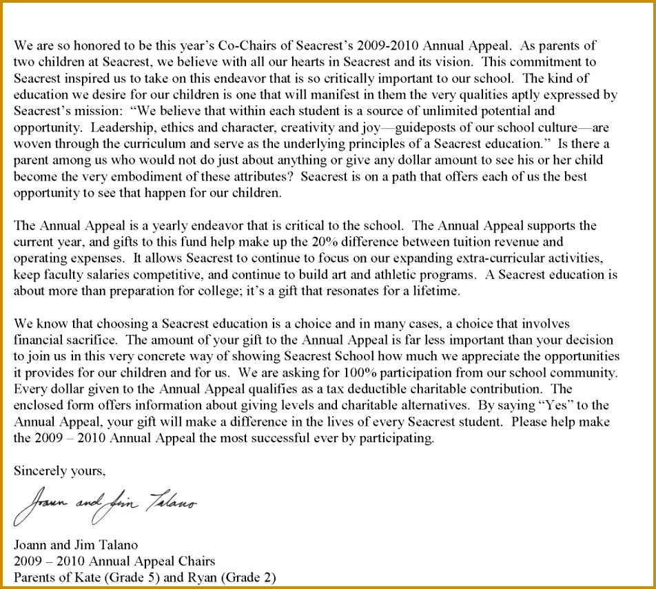 financial aid appeal letter sample need more money 855952