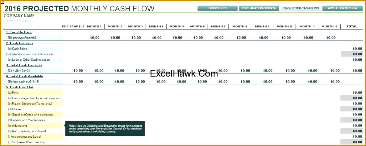 Financial Plan Sample Excel Cash Flow Statement Analysis Excel Cash Basis Accounting Template 1169469