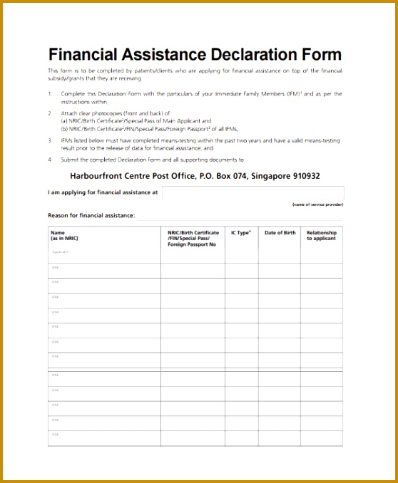 Declaration Document Template 22 Doctors Note Templates Free 558678