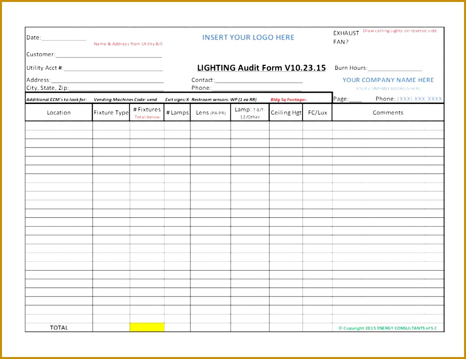 Impressive Internal Quality Audit Report Template Example With 952735