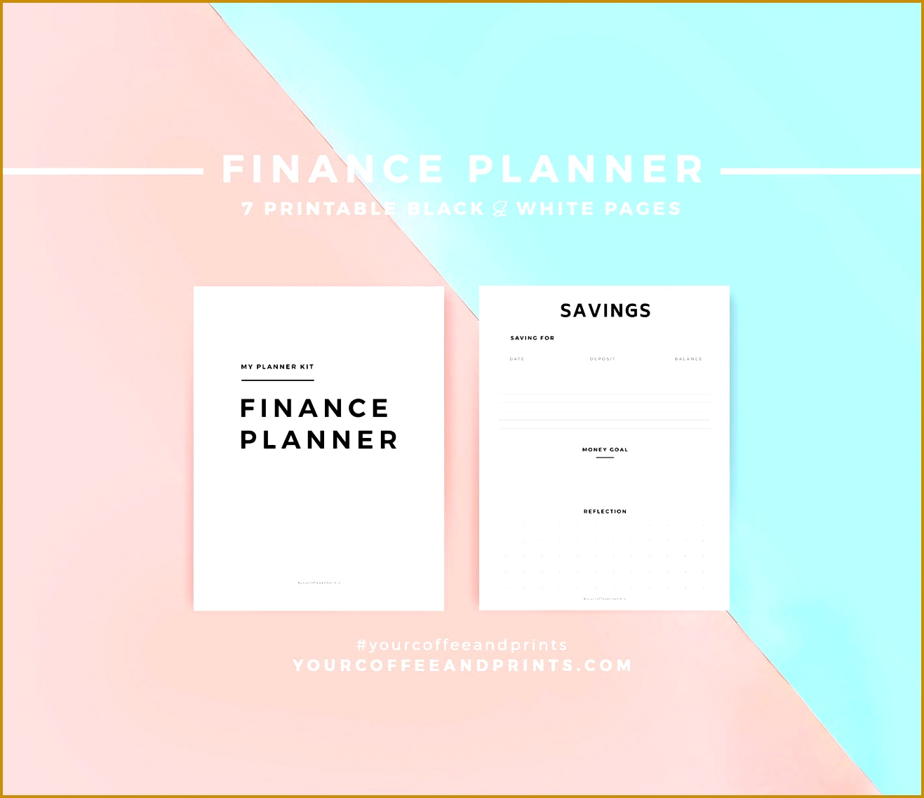 Finance Planner Ultimate Bud Planner Money Planner Bud Planner Template Bill Tracker 11371317