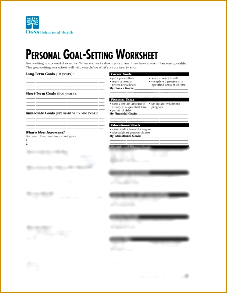3 financial goal setting template fabtemplatez fabtemplatez personal goal setting worksheet psychology 231 with sato at university of tennessee knoxville studyblue 962744 pronofoot35fo Images