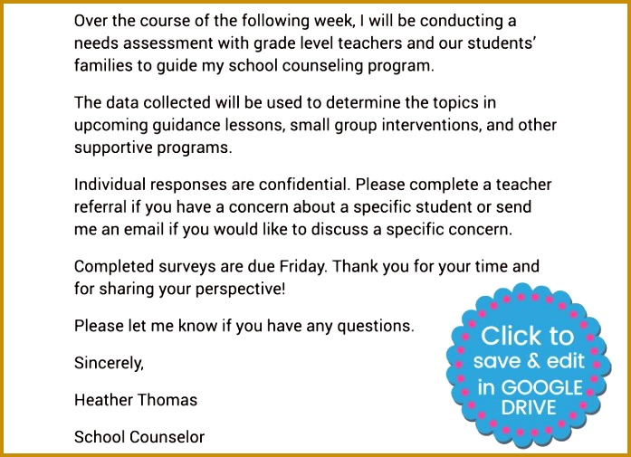 School Counseling Needs Assessment Made Easy With Google Forms 697505