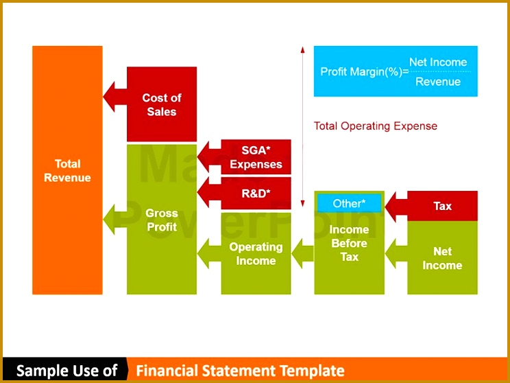 This PowerPoint Financial Statement template includes vector slides featuring transaction data pyramid trial balance 558744
