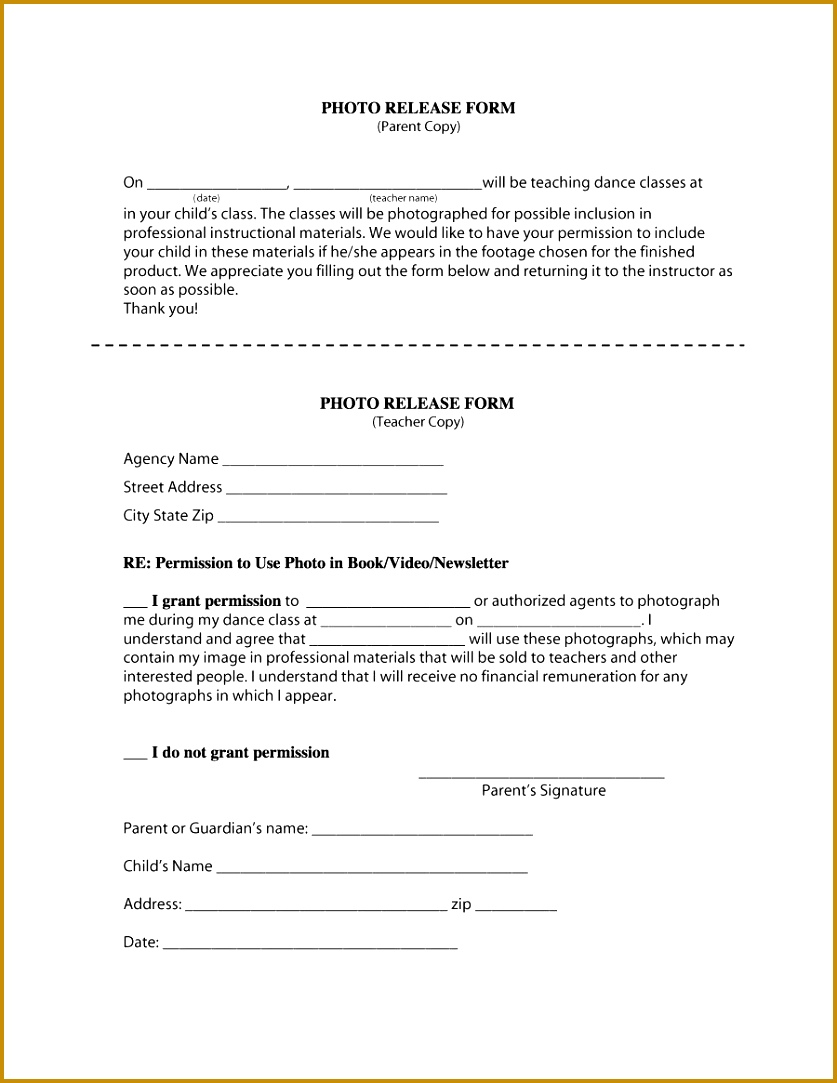 photo release form 31 1083837