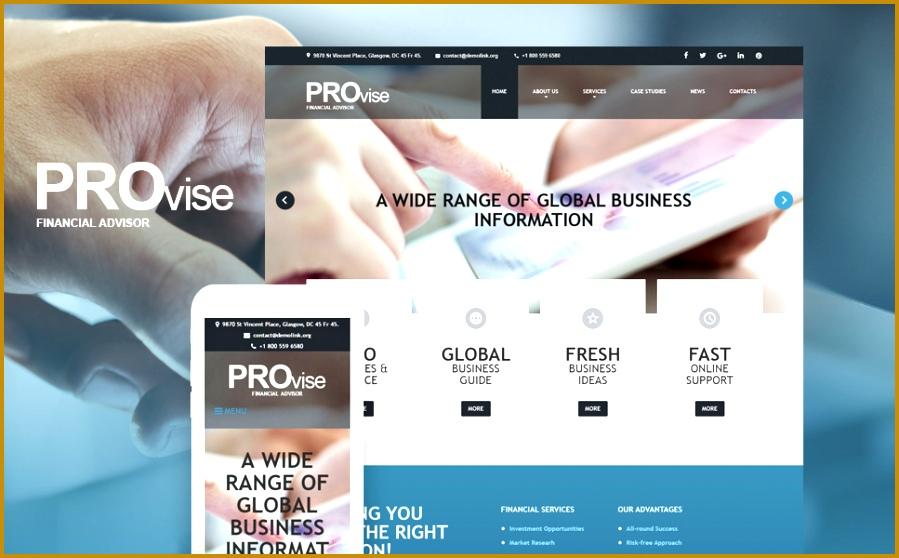 website design provise financial resume template resume builder 558899