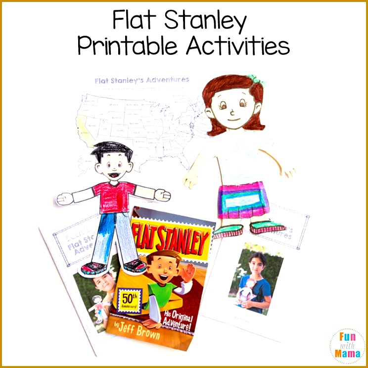 flat stanley activities There is an area for the child to include their state flag they could draw this in or cut and paste using a puter 744744