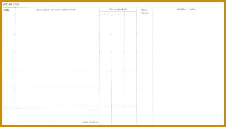 Log Book Sample 262465