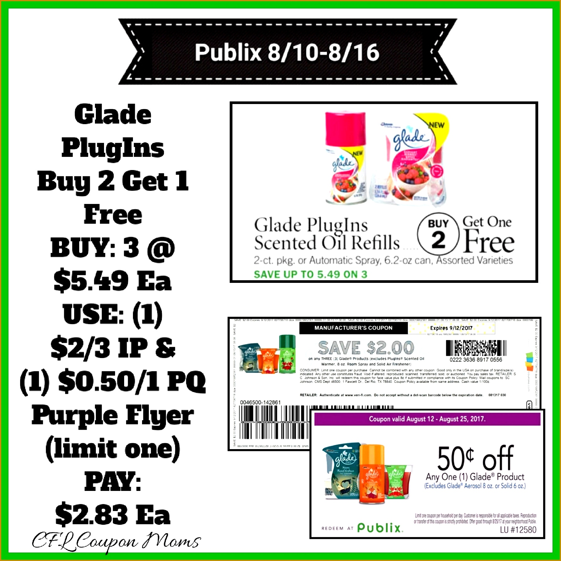 We had a new Printable Coupon pop up this morning along with a Publix Coupon found in the New Purple Flyer 17851785