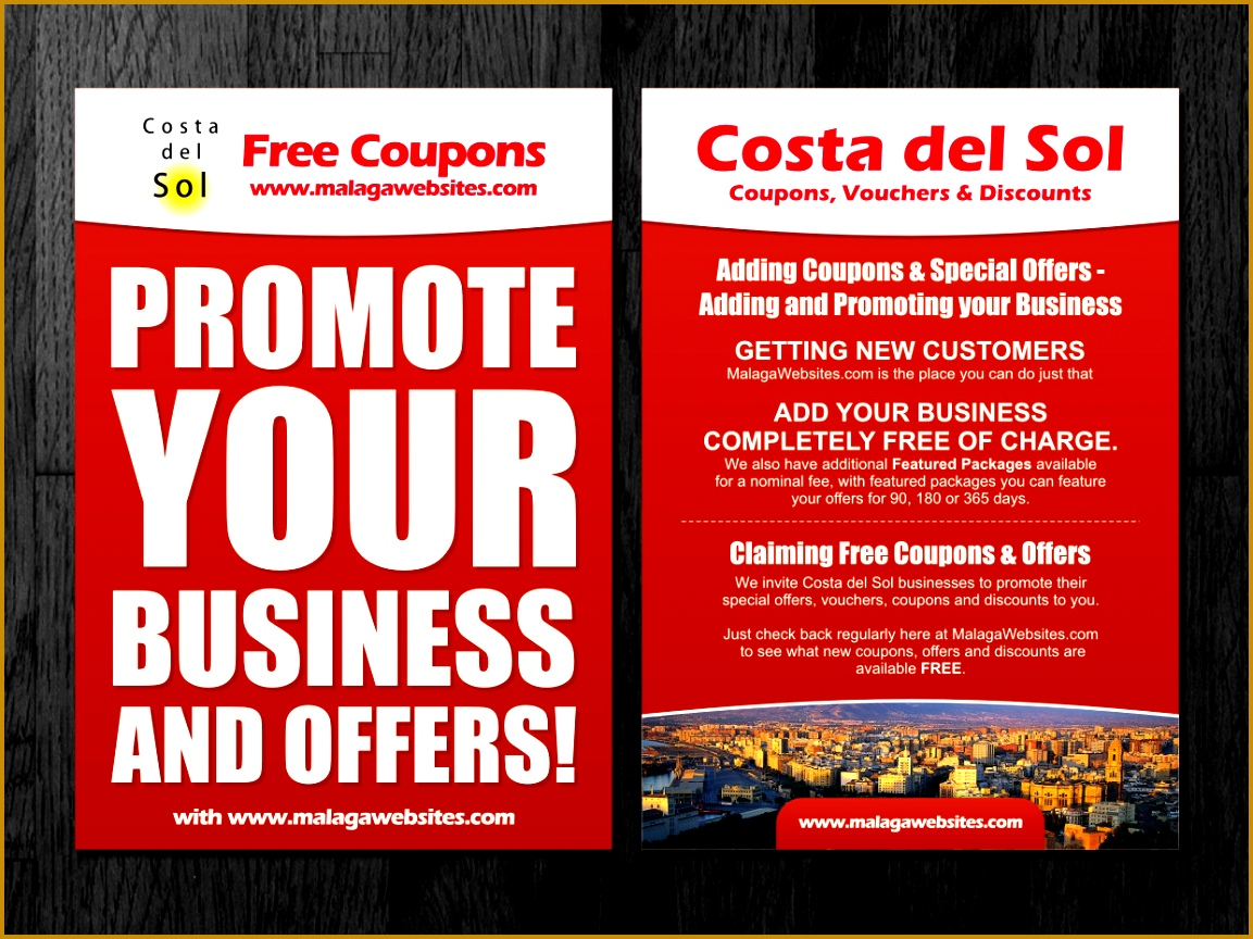Flyer Design by Atvento Graphics for A5 Flyer for promoting coupon website Design 8641153