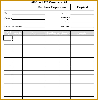 food requisition form template purchase requisition form free 338344