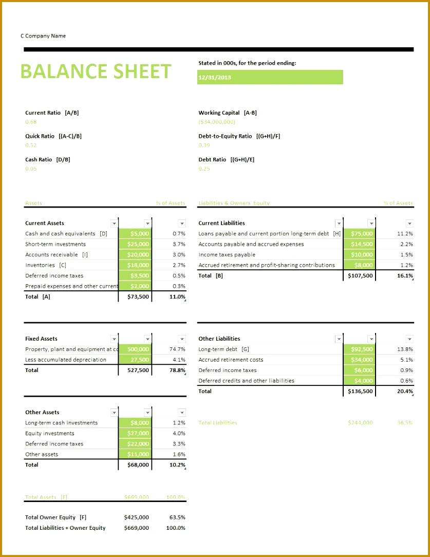 Printable Balance Sheet Template 03 1084837