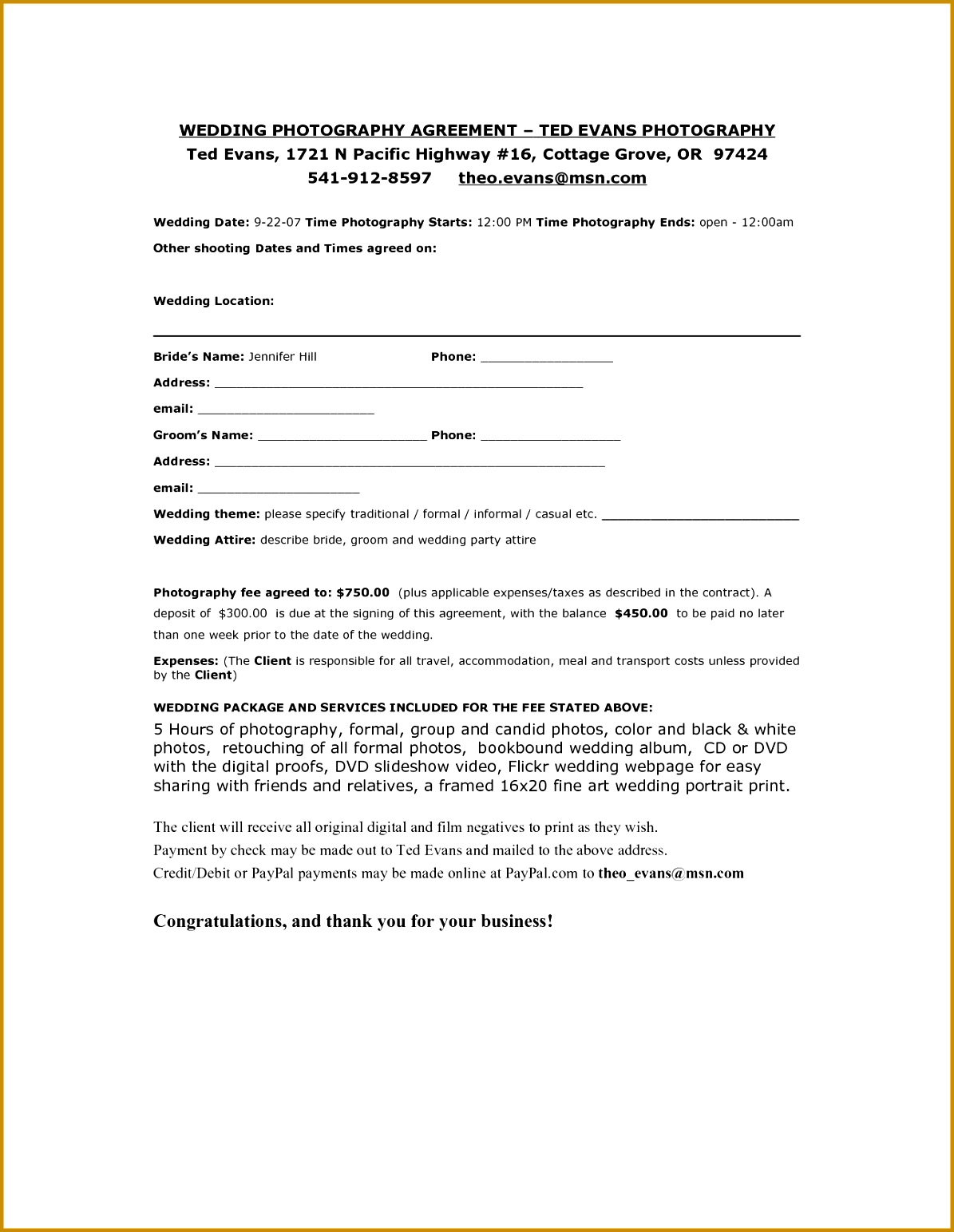 event planner contract example event registration form template Event Planning Contract Template 15431195