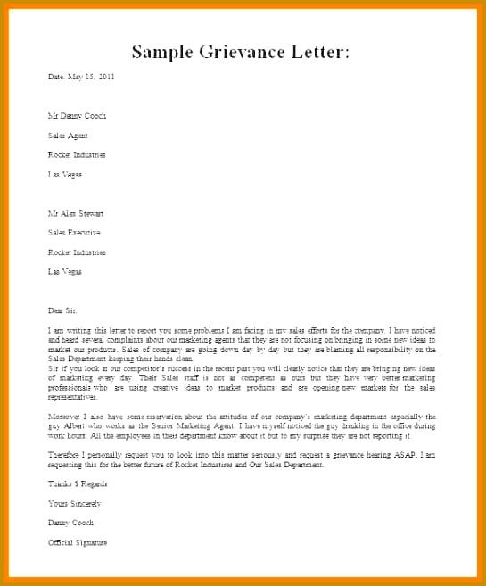 grievance appeal letterrmal grievance letter template free grievance letter template 1a8mmpy7 AGbXLk 657545