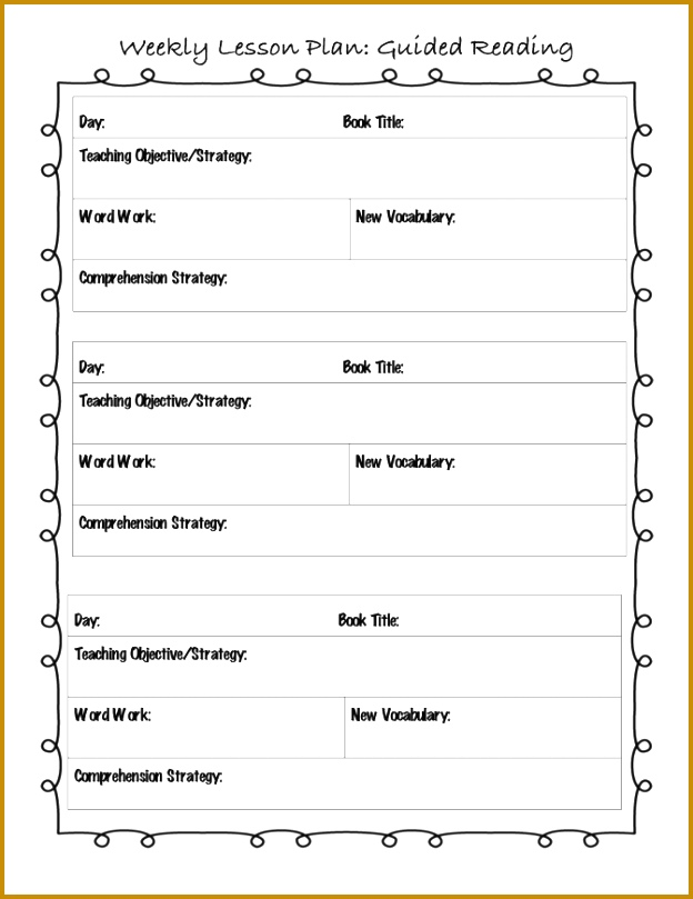 Great Formal Lesson Plan Template Photos Formal Letter Format