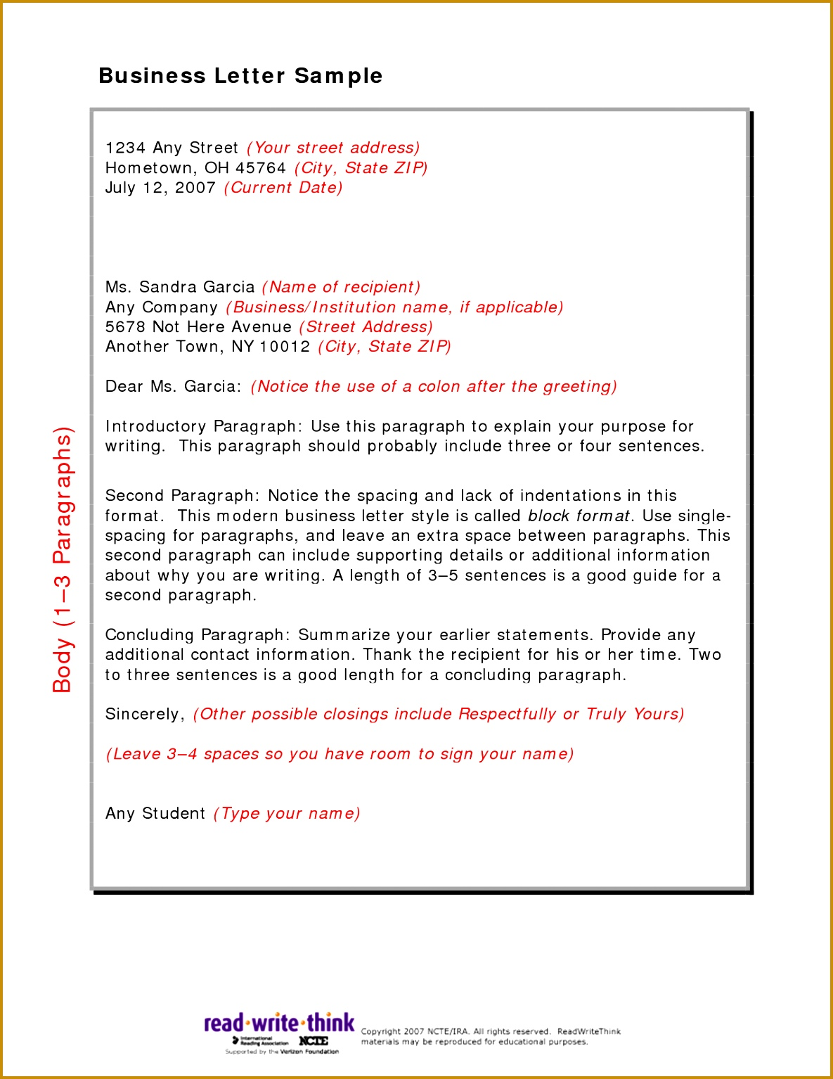 Friendly letter format for kids choice image letter samples format friendly letter format for kids choice 15341185