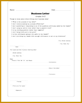 Business Letters 279348