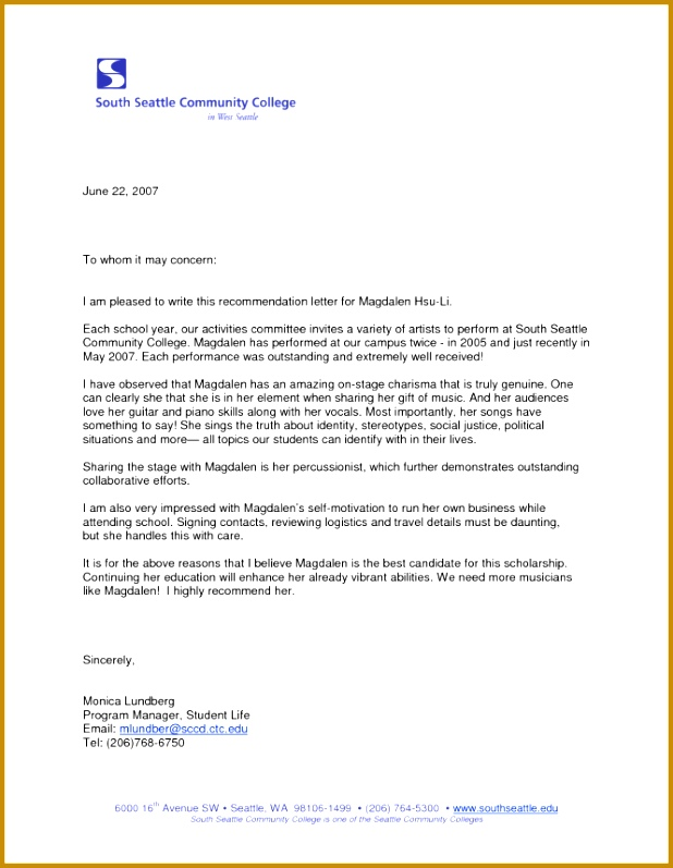 Formal Business Letter Format To Whom It May Concern 797618