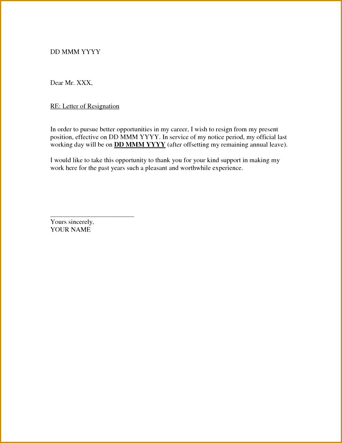 quitting letter 15341185