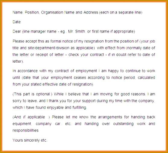 5 Employee Resign Notice 558508